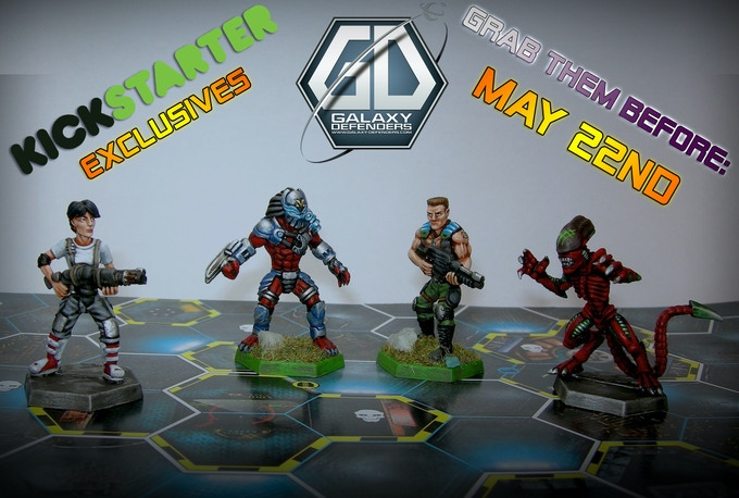 Hand-painted version of our exclusive figures.