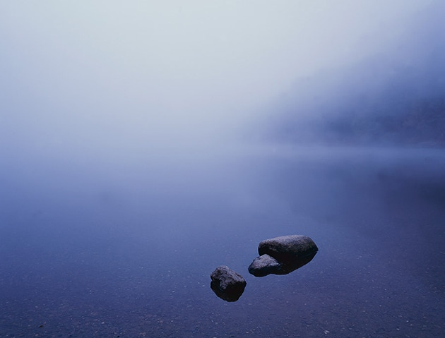 Dead Calm - Glendalough Upper Lake, Ireland