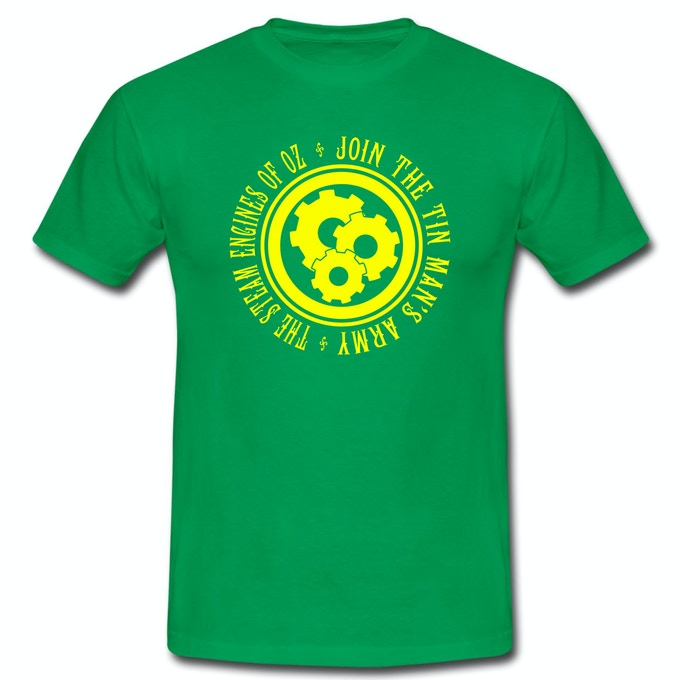 Join The Tin Man's Army Shirt in Green