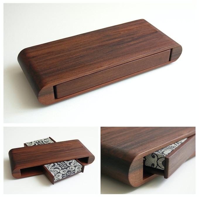 Redwood Playing Card Display Case