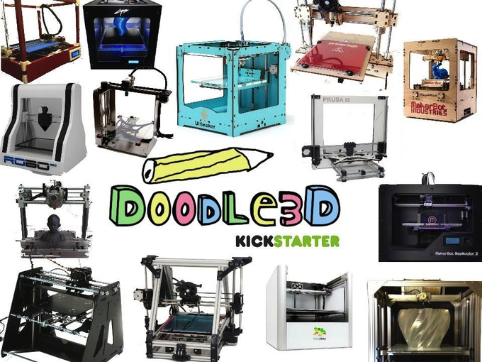 Doodle3D - almost any open-source printer will be supported