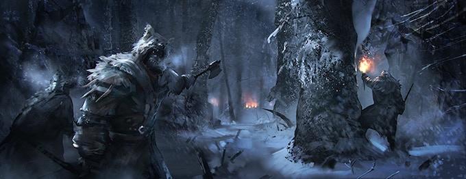 Tamvaasa warriors venturing into the woods.