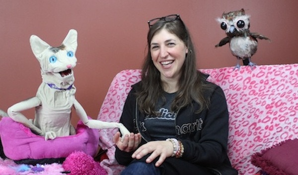 Love Me Cat & Owly with Mayim Bialik