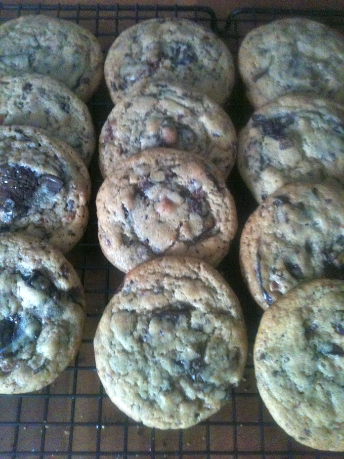 Chunky Pig Dark Chocolate & Candied Bacon Cookies