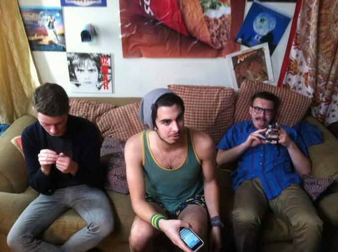 Left to Right: Pat (Patrick McLaughlin), Craig (Joey Richter), Googol (Andrew James Parkhill)