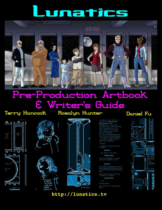 Artbook and Writer's Guide - one more chance to get it!