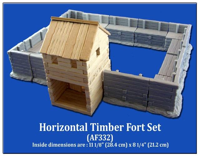 Horizontal Timber Fort Set