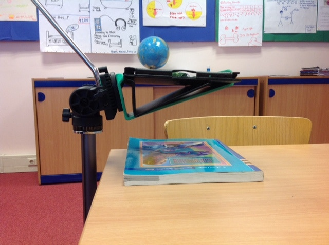 Using a TriTab as a document camera - great for classrooms!