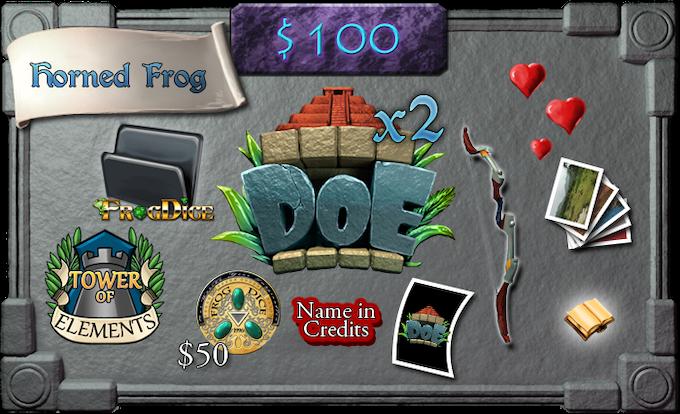 $100 - Horned Frog