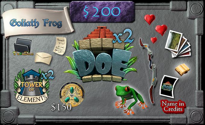 $200 - Goliath Frog (limit 100)
