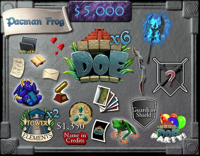 $5,000 - Pacman Frog (limit 5)