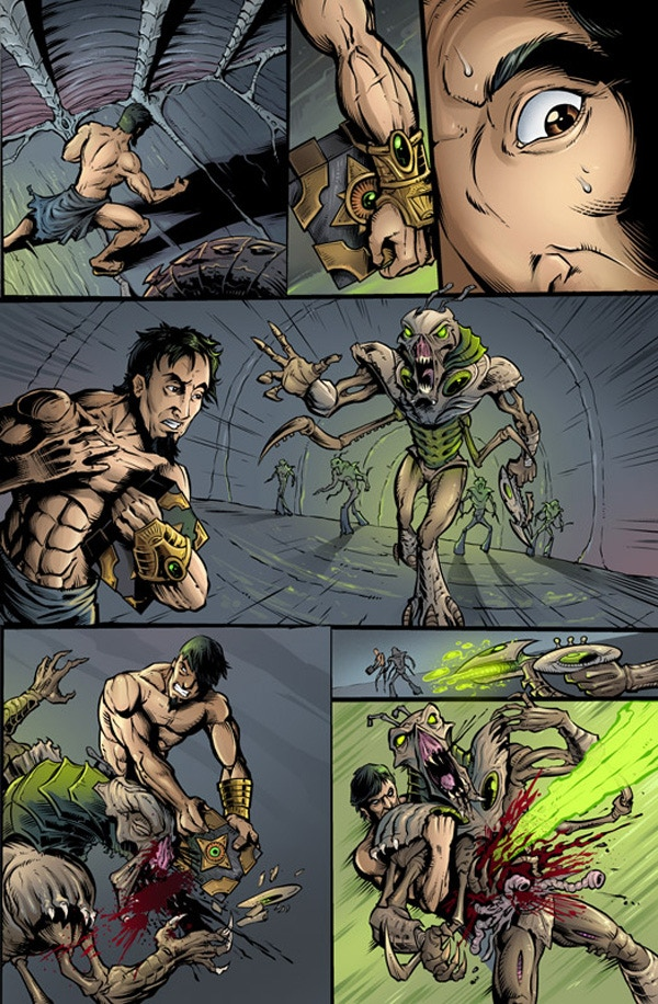 """Preview page from """"The Courier"""", By Brian Allen"""