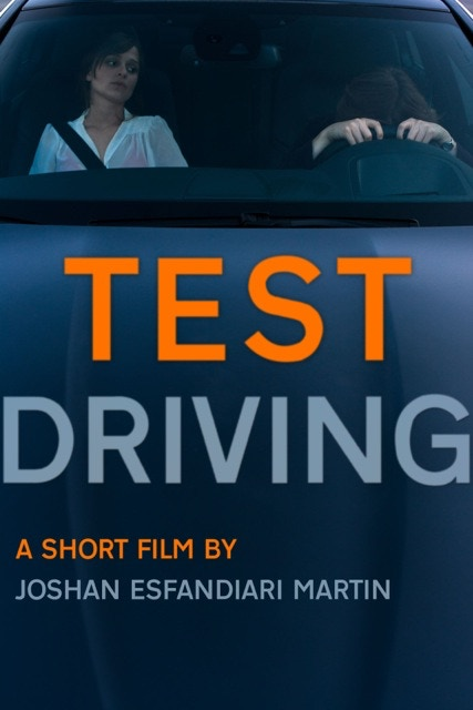 dvd or blueray of Test Driving a short film by author Joshan Esfandiari Martin SIGNED by Joshan