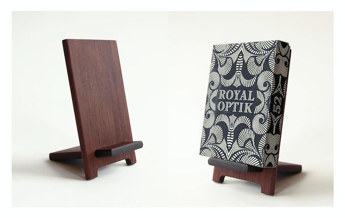 Redwood Deck Stand