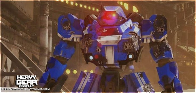Damage prototype in-game screenshot