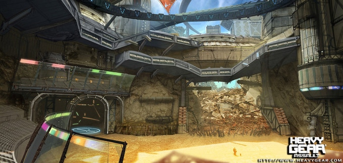 Arena concept by Lorenz Hideyoshi Ruwwe