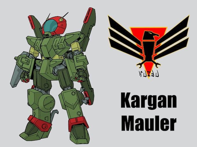 The Kargan Mauler by: Mark Simmons