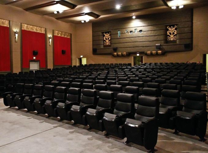 The Kiggins Theatre auditorium, restored in 2010