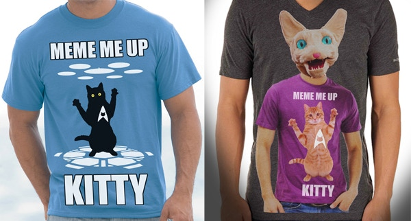 Choose from 2 Love Me Cat t-shirt options! (mockups only)