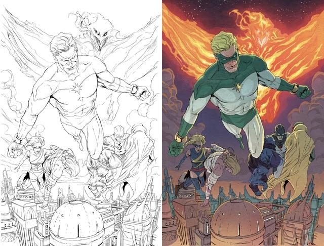 Jeremy's color work for Marvel's Secret Avengers #28