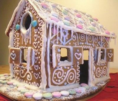 The Famous Norwegian Gingerbread House!