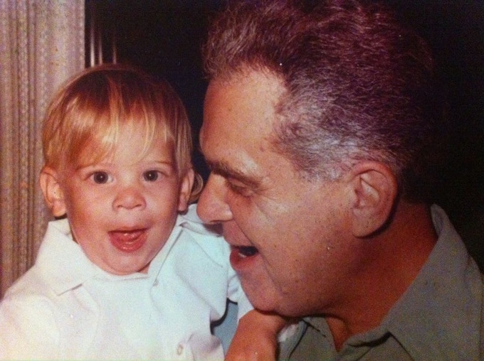 My grandfather and I.