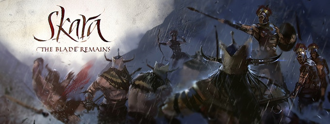 Faction Battle among Celea troops and a Khärn tribe.