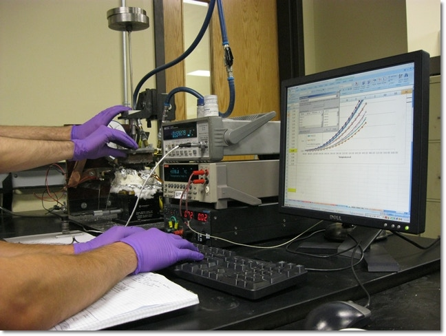 Electrical testing of MicroPower Chips