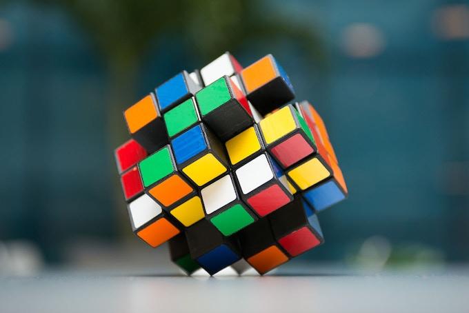 The X-Cube Scrambled