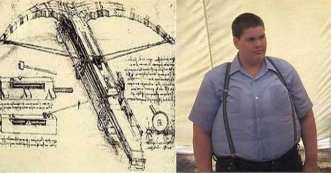 Think of Josh as a cross between Leonardo da Vinci and 'Lardass' from Stand By Me.