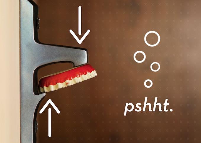 stout bottle opener a forever object by joe starmer lance atkins kick. Black Bedroom Furniture Sets. Home Design Ideas