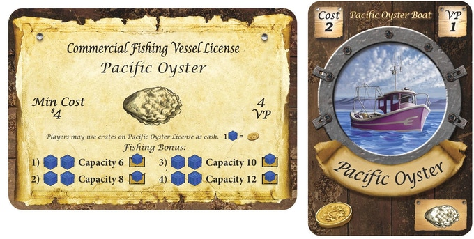Pacific Oyster License and Boat