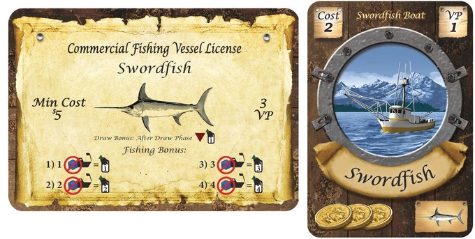 Swordfish License and Boat