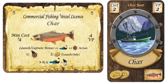 Char License and Boat