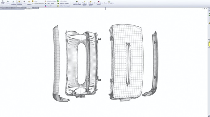 Exploded 3D CAD views of the Persona model