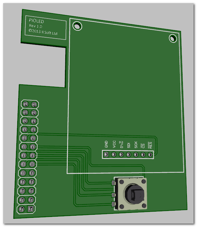 Shared Board Cause To Pause: Colour OLED Breakout Board By ILSoft Ltd —Kickstarter