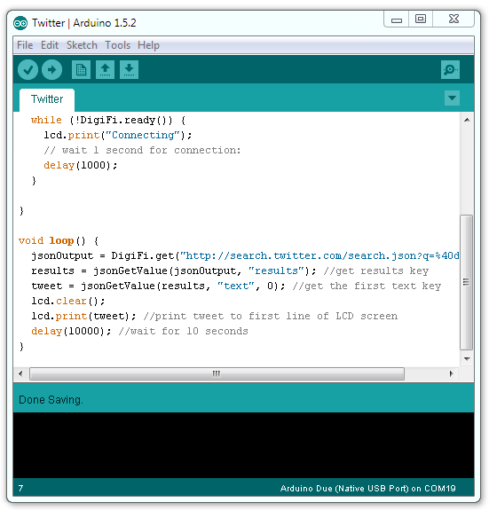 The Arduino 1.5 IDE, no changes needed!