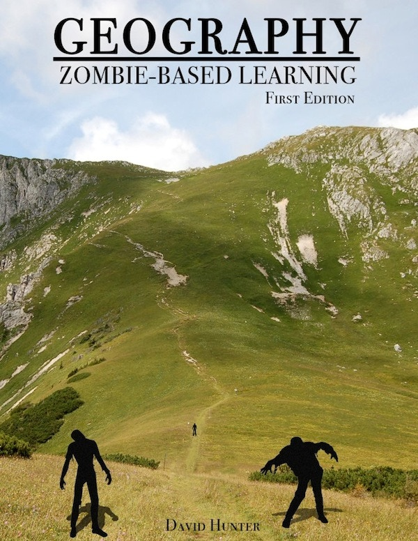 Zombie-Based Learning lesson book