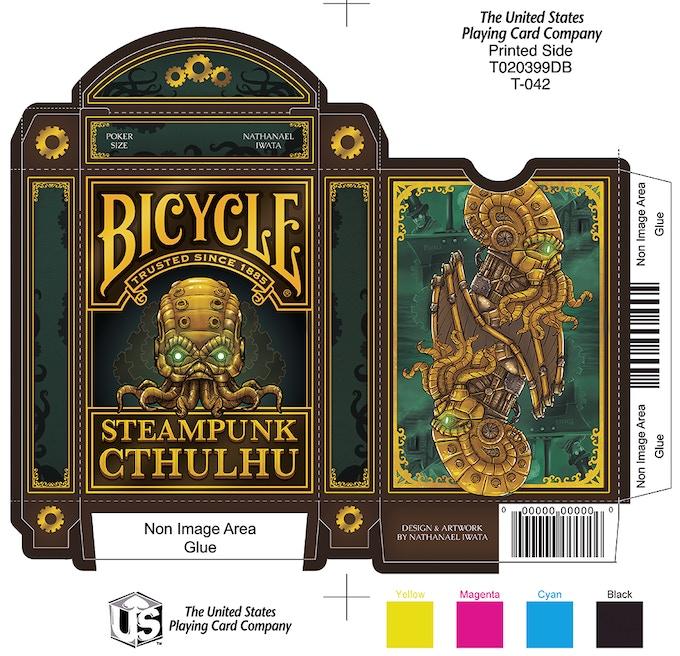 Steampunk Cthulhu Tuck Box