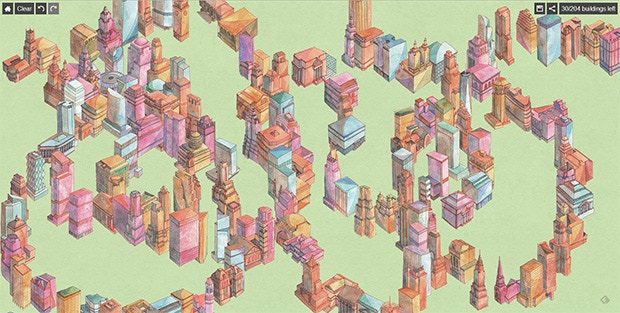 Continuous City Early Prototype Screenshot