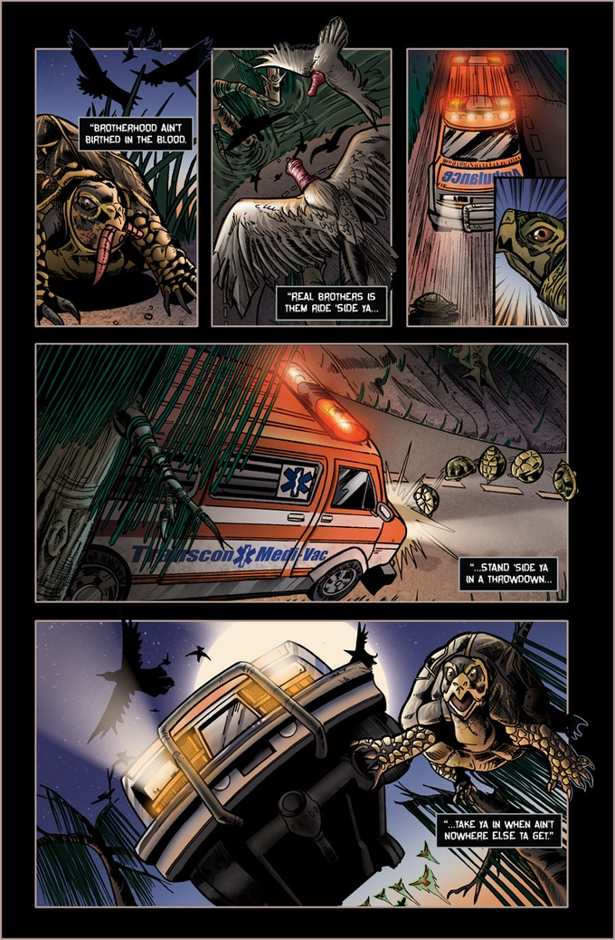 Page 1 of Roadkill du Jour #2!