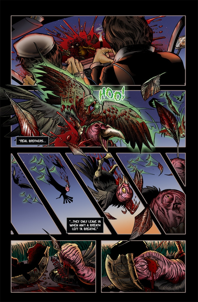 Page 2 of Roadkill du Jour #2!