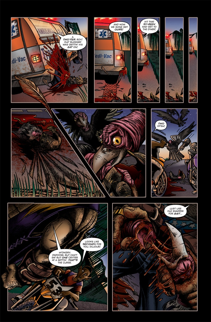 Page 3 of Roadkill du Jour #2!