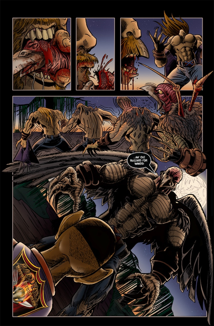 Page 4 of Roadkill du Jour #2!