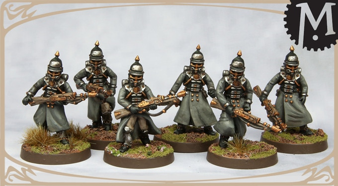 Meridian Miniatures Steampunk Army By Andrew May Kickstarter
