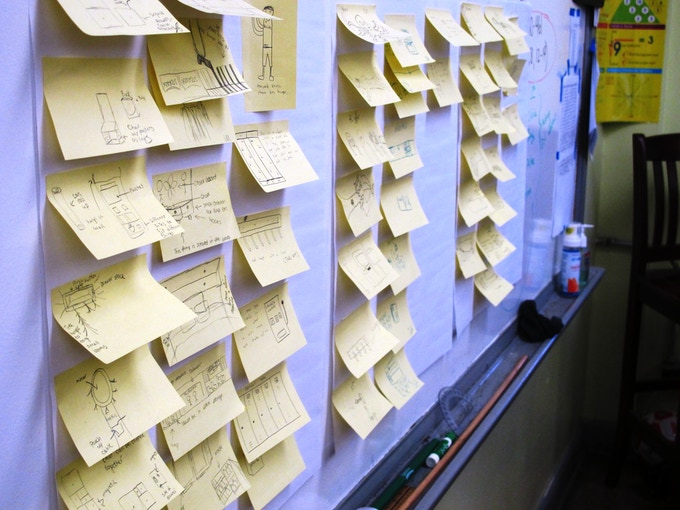 Over 600 ideas were created during the brainstorming session of dig-8.