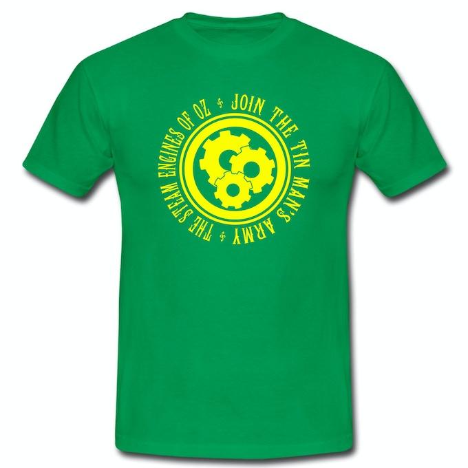 Tin Man's Army Emblem T-Shirt (Green)