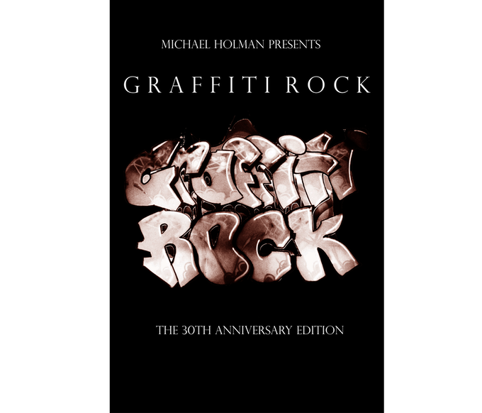 Official Graffiti Rock Th Anniversary Edition Poster