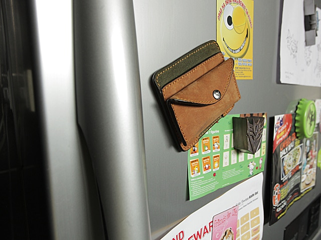 You will never leave your wallet behind...