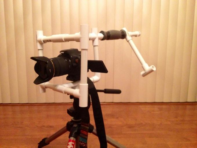 DIY shoulder rig